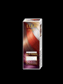 Оттеночный бальзам, SOLVEX Elea Hair Toner, 100 мл., 00 - Бесцветный блеск-тонер для волос