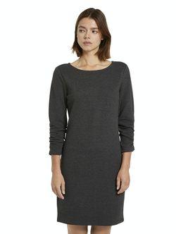 Платье TOM TAILOR Темно серый 1022928 tom tailor