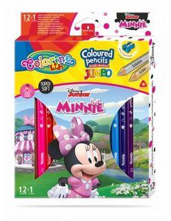 Цветные карандаши Jumbo - Colorino Disney Minnie Mouse