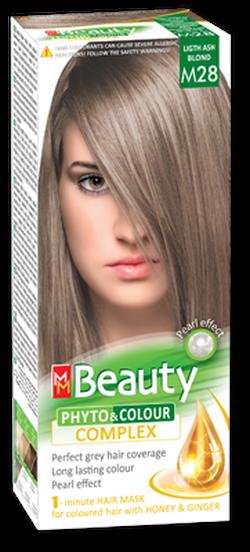 Vopsea p/u păr, SOLVEX MM Beauty, 125 ml., M28 - Blond cenușiu deschis