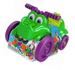 """Mașină de crocodil """"Rulează și colectează zarurile"""" Mega Bloks, cod GFG22"""