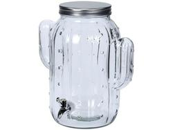 Borcan din sticla cu robinet