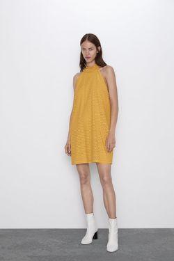 Платье ZARA Желтый 0387/158/305