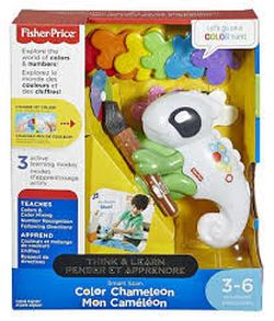 Умный хамелеон (рус.) Fisher-Price (свет+звук), код FCH23