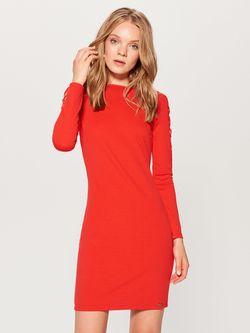 Платье MOHITO Красный ur767-33x