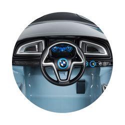 Электромобиль Chipolino BMW I8 Concept Black (ELKBMWI83BK)