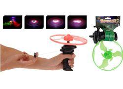 Пистолет -метатель светящихся дисков UFO D16cm