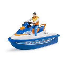 Игрушка водный мотоцикл с водителем, код 42314