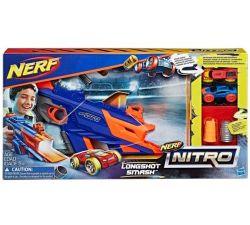 Бластер NERf Nitro Longshot Smash, код 42236