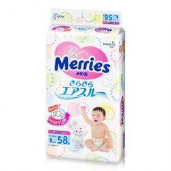 Подгузники Merries L (9-14 kg) 54 шт