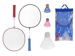 Set palete pentru badminton, 1 fluturas