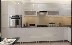 Bucătărie Bafimob Corner (High Gloss) 4.1x0.9m Eco +ball closer White