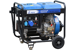 Дизельный генератор TSS SDG 7000EH 6,5 кВт с АВР