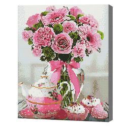 Подарок к чаю, 40x50 см, алмазная мозаика Артукул: QA204979