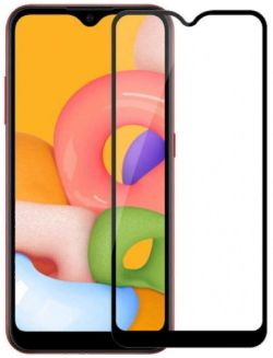 Защитное стекло Cover'X для Samsung A01 All Glue