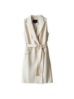 Платье Massimo Dutti Слоновая кость 6621/390/251