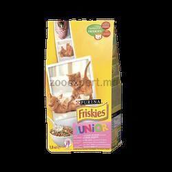 FRISKIES  Junior (c курицей, молоком и овощами)
