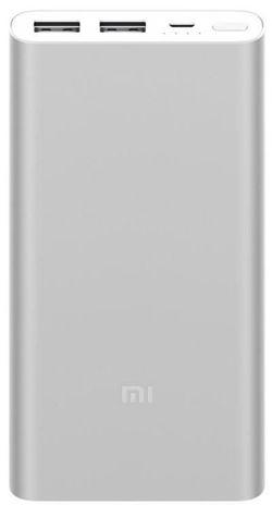 купить Аккумулятор внешний USB (Powerbank) Xiaomi 10000mAh Mi Power Bank 2S 10K, Silver в Кишинёве