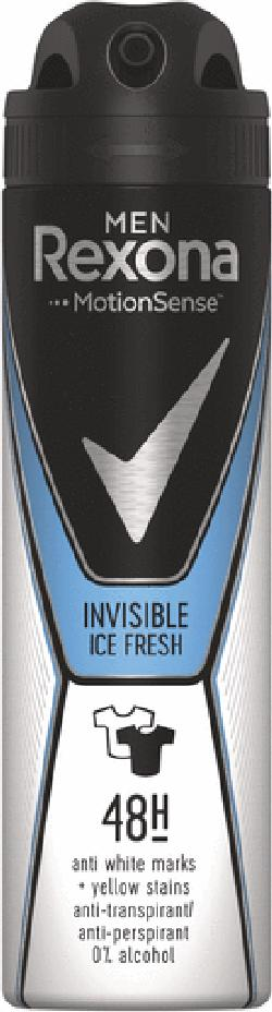 Антиперспирант Rexona Men Invisible Ice Fresh, 150 мл