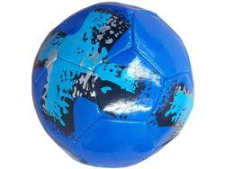 Мяч футбольный разноцветный 21cm, 340g