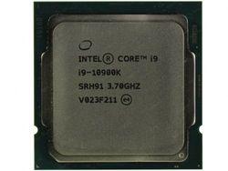 Intel Core i9-10900K 3,7–5,3 ГГц CPU (10C / 20T, 20MB, S1200, 14nm, Integrated UHD Graphics 630, 125W) Лоток