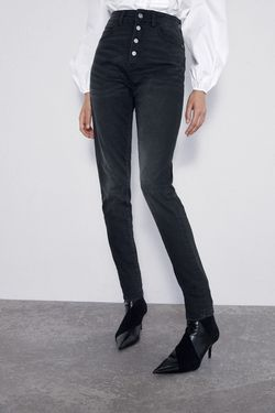 Pantaloni ZARA Negru 1934/222/800