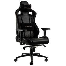 Gaming Chair Noble Epic NBL-PU-BLA-002 Black/Black