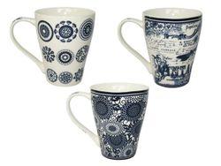 Cana 360ml, con, in stil olandez, din ceramica