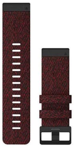 cumpără Accesoriu pentru aparat mobil Garmin QuickFit fenix 6X 26mm Heathered Red Nylon Band în Chișinău