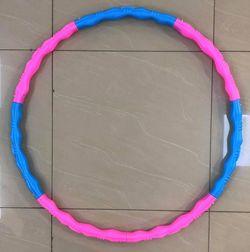 Обруч массажный / Хулахуп d=87 см, пластик JS6009 1311-1066 (4280)