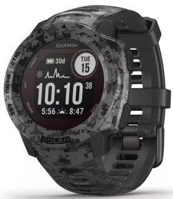 купить Смарт часы Garmin Instinct Solar – Camo Edition Graphite в Кишинёве