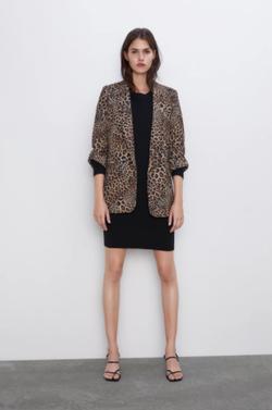 Sacou ZARA Imprimeu leopard 7841/236/051