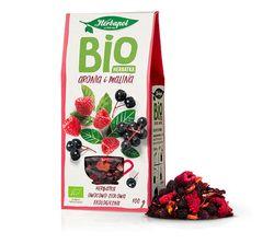 Чай фруктовый Био Herbapol Chokeberry and Raspberry, 100г