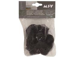 Мочалка для тела шар MSV фиолетовая