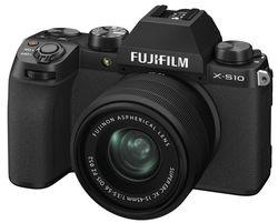 cumpără Aparat foto mirrorless FujiFilm X-S10 black/XC15-45mm kit în Chișinău