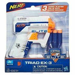 Blaster NERF ELITE Triads EX3, cod 43458