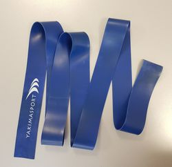 Эспандер ленточный 220х5 см / 1 мм Yakimasport 100288 blue, strong (2043)