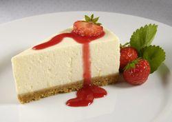Cheesecake de capsuni