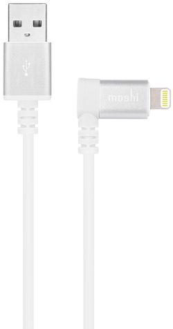 Кабель Moshi iPhone Lightning USB Cable cu conector de 90-grade