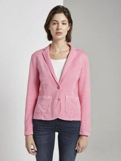 Пиджак TOM TAILOR Розовый 1016249