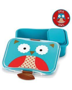 Пластиковый контейнер для бутербродов Skip Hop Zoo Сова