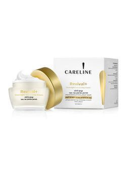 Cremă de noapte Careline 55+ Revival SPF 15, 50 ml