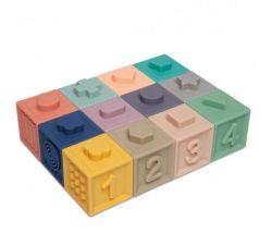 Мягкие развивающие кубики Canpol Babies (12 шт)