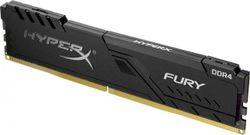 .4 ГБ DDR4-3000 МГц Kingston HyperX FURY (HX430C15FB3 / 4), CL15-17-17, 1,35 В, Intel XMP 2.0, черный