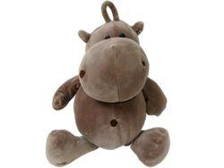 Jucarie moale Hipopotam 30cm