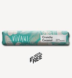 Batonas de ciocolata Vivani Cruchy Coconut 35g