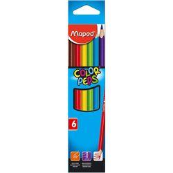 Карандаши цветные MAPED Star, 6 цветов