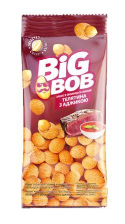 Арахис в оболочке со вкусом телятины и аджики Big Bob (60г)
