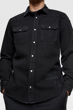 Рубашка ZARA Чёрный zara 2631350800
