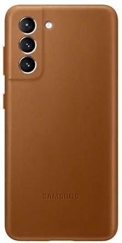 cumpără Husă pentru smartphone Samsung EF-VG996 Leather Cover Brown în Chișinău
